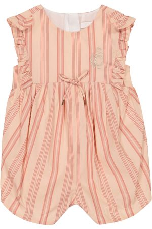 Chloé Rompers - Baby striped cotton bodysuit
