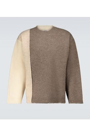 Maison Margiela Wool colorblocked sweater