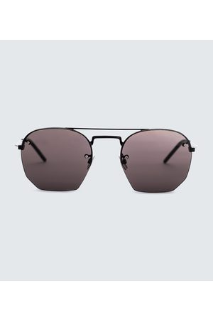 Saint Laurent Metal aviator sunglasses