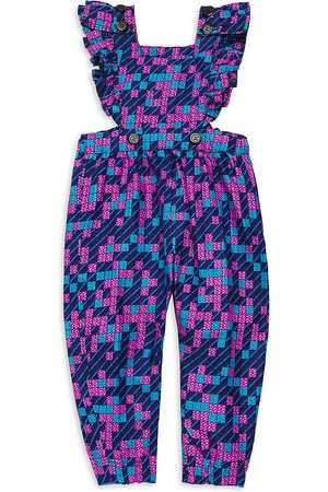 Elisamama Jumpsuits - Baby, Little Girl's & Girl's Ada Printed Jumpsuit - Size 12 Months