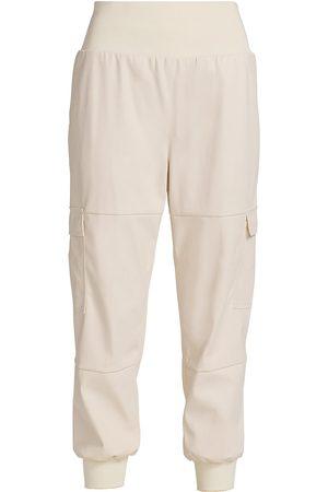Cinq A Sept Women's Faux Leather Giles Pants - Ivory - Size XS