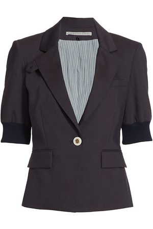 VERONICA BEARD Women's Margereth Dickey Jacket - Navy - Size 12