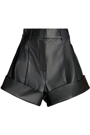 UNTTLD Women Shorts - Women's Carnalis Leather Shorts - - Size 2