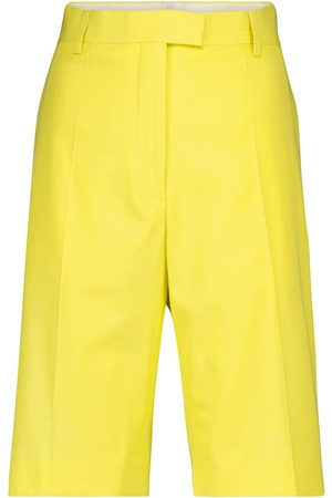 DRIES VAN NOTEN Women Bermudas - Cotton-blend Bermuda shorts