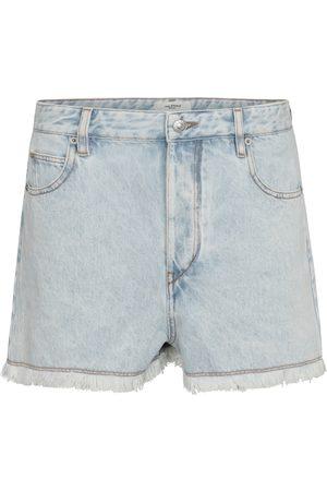 Isabel Marant Lesiasr high-rise denim shorts