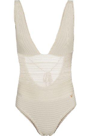 VALENTINO Crocheted swimsuit