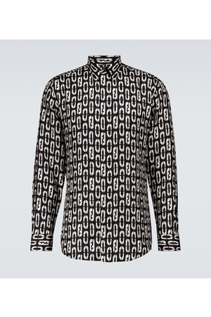 Fendi Men Long sleeves - Silk shirt