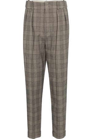 Isabel Marant Oceyo checked tapered pants