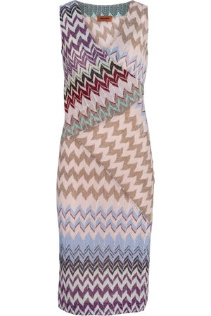 Missoni Women Knitted Dresses - Zig-zag knit minidress