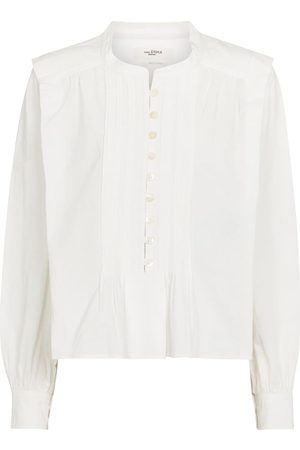 Isabel Marant Okina cotton poplin blouse