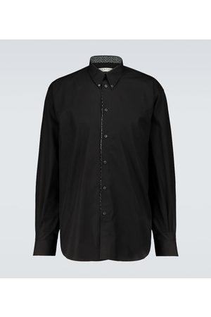 Givenchy Layered cotton shirt