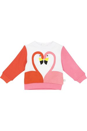 Stella McCartney Baby flamingo organic cotton sweatshirt