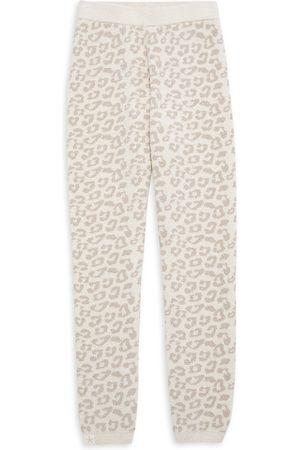 Barefoot Dreams Little Girl's & Girl's Leopard Leggings - - Size 12
