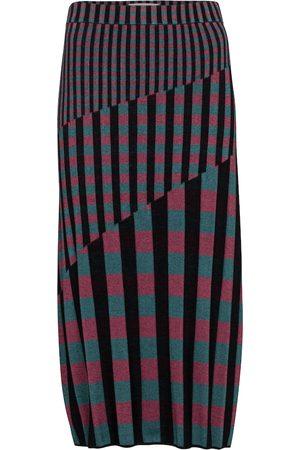 Diane von Furstenberg Women Midi Skirts - Rosa rib-knit midi skirt