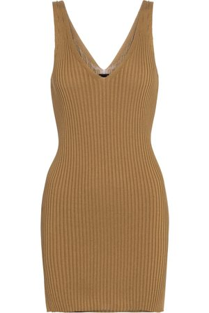 PETAR PETROV Naeva ribbed-knit silk tank top