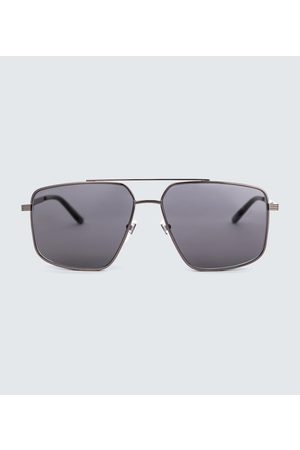Gucci Men Aviators - Metal aviator sunglasses