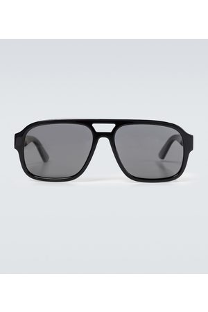 Gucci Men Aviators - Acetate aviator sunglasses
