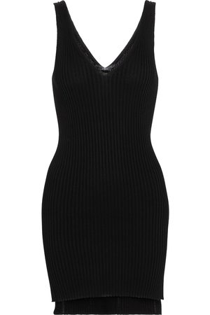 PETAR PETROV Women Tank Tops - Naeva ribbed-knit silk tank top