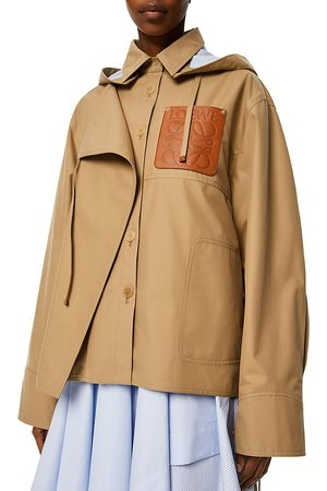 Loewe Women's Military Vented Hooded Parka - Sweet Caramel - Size 2