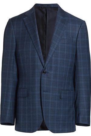 Ermenegildo Zegna Men's Achillfarm Plaid Sportcoat - - Size 48
