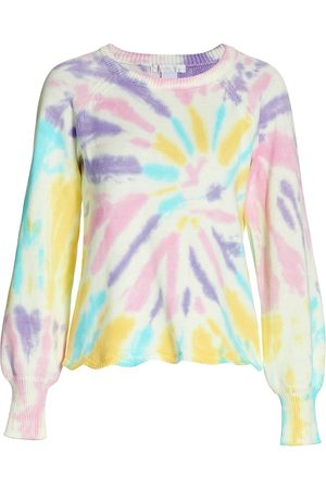 Design History Women Hoodies - Women's Tie-Dye Sweater - Mint Madness - Size Medium