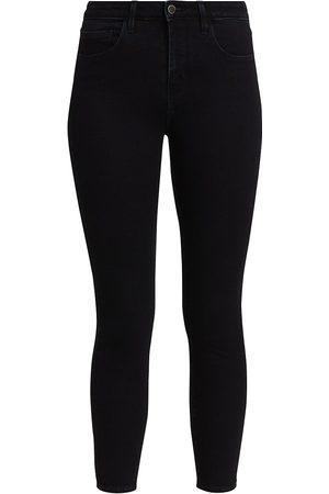 L'Agence Women High Waisted - Women's Margot High-Rise Skinny Jeans - - Size Denim: 27