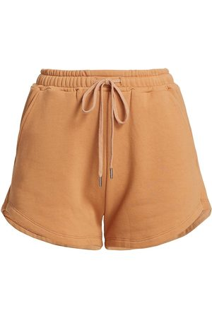 Jonathan Simkhai Standard Women Shorts - Women's Evie Organic Terry Relaxed Shorts - Cashew - Size XS