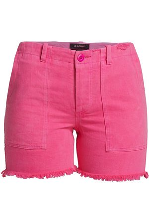 Le Superbe Women's Beach Crawler Cut-Off Shorts - Hot - Size 0