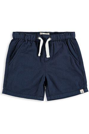 Me & Henry Baby's, Little Boy's & Boy's Twill Bermuda Shorts - Navy - Size Newborn