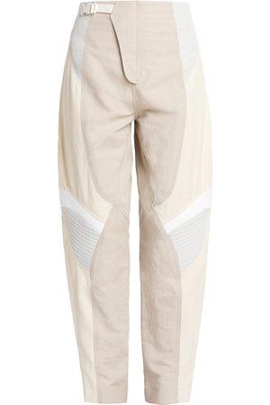 Stella McCartney Women Pants - Women's Brooke Moto Panel Trousers - Vanilla - Size 8