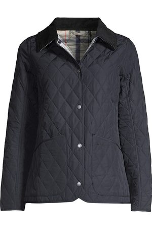 Barbour Women Rainwear - Women's Quilted Jacket - Navy - Size 4