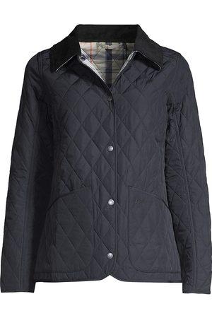 Barbour Women Rainwear - Women's Quilted Jacket - Navy - Size 4