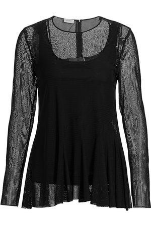 AKRIS Women Tunics - Women's Mesh Asymmetrical Tunic - - Size 8