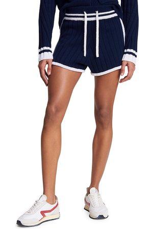 RAG&BONE Women's Serena Shorts - Navy - Size Large