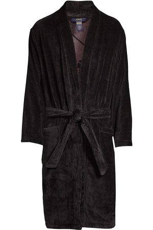 Polo Ralph Lauren Men's Velour Robe - - Size Large