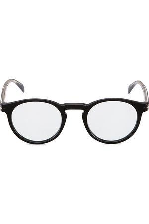 David beckham Men Round - Men's 49MM Round Sunglasses