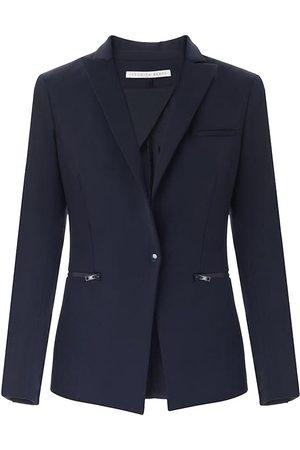VERONICA BEARD Women Jackets - Women's Core Scuba Jacket - Navy - Size 4