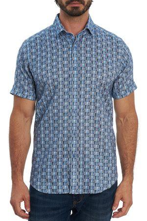 Robert Graham Men Short sleeves - Men's McGlown Printed Sport Shirt - - Size XXXL