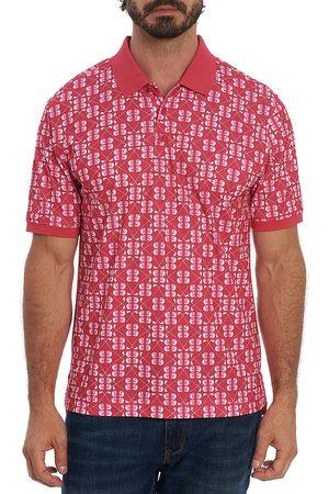 Robert Graham Men Polo Shirts - Men's Baritone Polo - - Size XXL