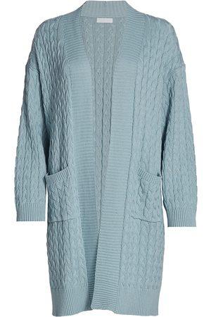 SABLYN Women Cardigans - Women's Mirna Long Cable-Knit Cardigan - Sky - Size XS