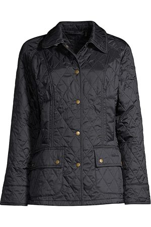 Barbour Women's Summer Beadnell Quilted Jacket - Navy - Size 4