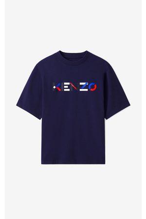 Kenzo Short Sleeve - Multicoloured oversize Logo T-shirt