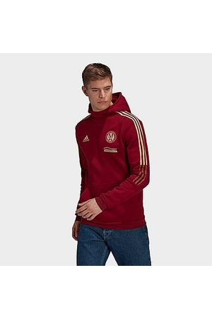 Adidas Team Men's adidas Atlanta United FC Travel Hoodie in /Team Collegiate Burgundy Size Small Fleece