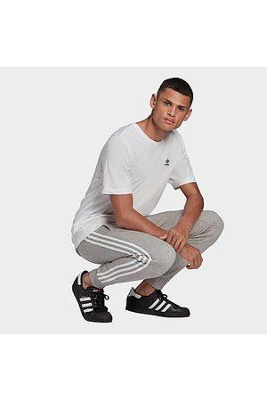 adidas Men's Originals Adicolor Classics 3-Stripes Jogger Pants in Grey/Medium Grey Heather Size 2X-Large Cotton/Polyester/Fleece
