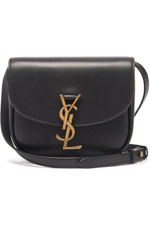 Saint Laurent Women Purses - Kaia Small Ysl-plaque Leather Cross-body Bag - Womens