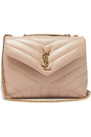 Saint Laurent Loulou Small Quilted Leather Shoulder Bag - Womens