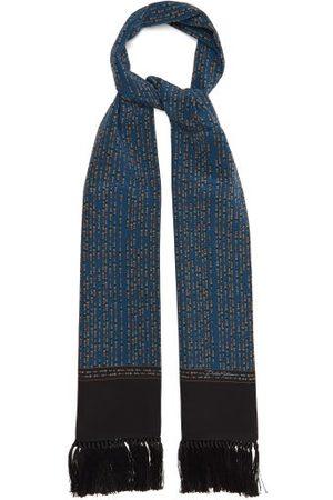 Dolce & Gabbana Men Scarves - Tasselled Silk-satin Scarf - Mens