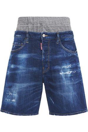Dsquared2 36cm Summer Twin Pack Denim Shorts