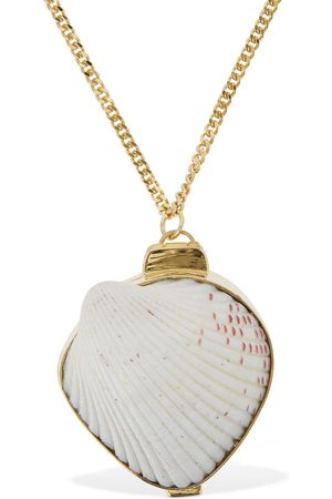 Jil Sander Long Necklace W/ Seashell