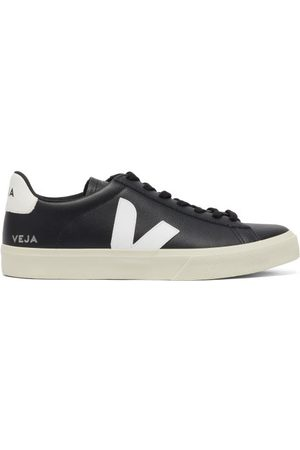 Veja Campo Leather Trainers - Mens